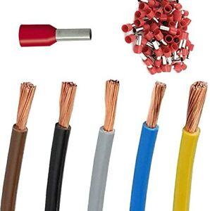 Aderleitung H07V-K 10mm² flexibel Einzelader (Verteilung)