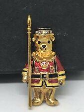 Crowns & Regalia The Yoeman Teddy Bear Brooch Tower Of London Royal Family
