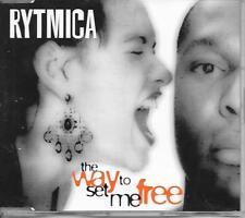 RYTMICA - The way to set me free CDM 4TR Eurodance 1995 Germany