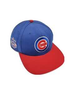 '47 Brand Chicago Cubs MLB Baseball Cap Snapback Hat Blue Red Men OSFA