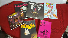 Zaubertricks Zauberei 6 Bücher Kartentricks Illusion zaubern
