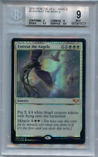 MTG Entreat the AngelBGS 9.0 (9) MT  FTV Angels Magic Mystic Foil Amricons 9212