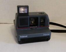 Vintage Polaroid Impulse Instant Film Camera 600 Auto Focus Flash TESTED WORKS