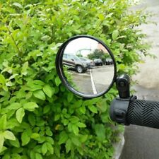 Black Round Universal Bicycle Cycling Handlebar Rearview Rear View Mirrors