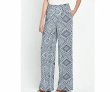 Wide Leg Other Casual Trousers Size Tall for Women