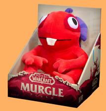 Blizzard World of Warcraft Red Murgle Murloc Plush Murglefin + Box OVP Blizzcon