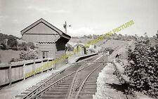 Waterhouses Railway Station Photo. North Staffs & Leek & Manifold Railways. (1)