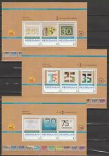 Nederland 2016 Postzegelbeurs Postex Apeldoorn - blokjes 8-10