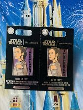 Disney Parks Star Wars Her Universe Share & Use The Force Two Pin Set Rey