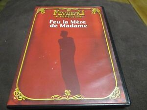 """DVD """"FEU LA MERE DE MADAME"""" Micheline BOUDET, Jacques CHARON / theatre"""