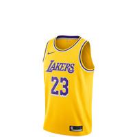 Nike NBA LeBron James Lakers Icon Swingman Yellow Men's Jersey 2019 - AA7099-741