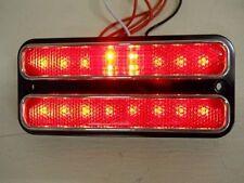 LED  SIDE MARKER LIGHT RED  CHEVROLET TRUCK 1968 1969 1970 1971 1972  GMC 1 PR