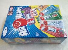 90/0.55oz AirHeads Variety Fruit Flavor Chewy Candy Bar,Now with Grape,Air Heads