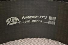 ONE NEW GATES POWERGRIP GT2 TIMING BELT 350014MGT170