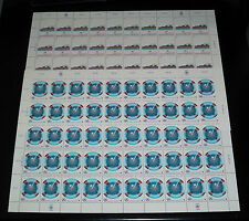 U.N.VIENNA #31-32  1983, SAFETY AT SEA SHEETS OF 50 , MNH, NICE! LQQK!