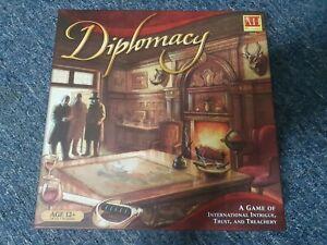Diplomacy board game