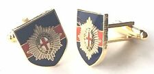 Coldstream Guards Military Enamel Crested Cufflinks (N203) Gift Boxed