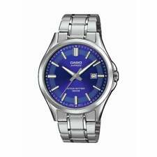 Casio Men's Standard Analog Silver Stainless Steel Band MTS100D-2A MTS-100D-2A