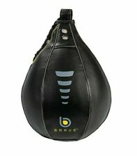 "Century Brave 7"" Diameter Speed Bag, Black/Gray, NWT BOX BOXING"