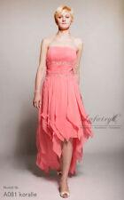 Damenkleider im Abendkleid aus Chiffon in Größe 38