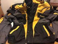 Mens Biker Jacket Size Xl Padded Elbow Shoulder Back Protection Designer Unisex