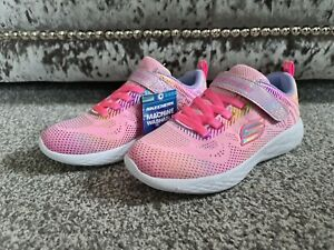 Skechers Kids Performance Size UK 2 Pink Brand New With Tags Unworn