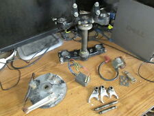 1979 Yamaha YZ125 Triple Tree Brake Hub Shift Forks Coil Ignition Unit Parts Lot