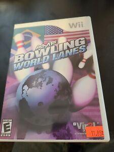AMF Bowling: World Lanes (Nintendo Wii, 2008)
