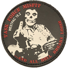 3/5 Darkhorse TF Misfit DET B PVC Patch-With Hook and Loop