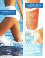 PUBLICITE ADVERTISING  116  1997   Biotherm  cremes cosmétiques corps