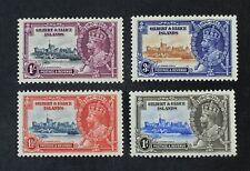 Ckstamps: Gb Stamps Collection Gillbert Ellice Scott#33-36 Mint H Og