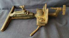 """Vintage Antique Sargent & Co. No. 105 Saw Sharpening Vise 9"""" Bench/Table Mount"""