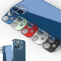 Metall Slim Kamera Objektiv Schutz Lens Protector für iPhone 12 / Mini / Pro Max