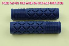 PROGRIP 929 Soft Touch super confort Caoutchouc MTB BMX n'importe quel Vélo H/Bar Grips Bleu