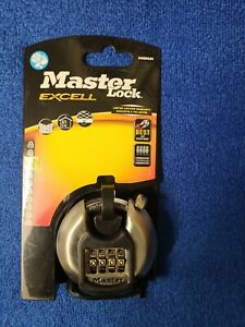 MASTER LOCK EXCELL M40DNUM 70mm COMBINATION SECURITY PADLOCK