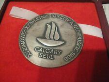 Erinnerungs Teilnehmer Ehren Medaille Calgary Olympische Spiele