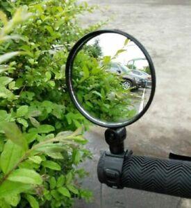 1 x MTB Mountain Bike Handle Bar 360 Rotatable Convex Bicycle Rear-view Mirror