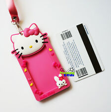 New Cute Hello Kitty ID Card Room Card Working Card Holder