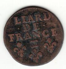 Louis XIV, 1698 CC old bust copper liard, Besancon mint