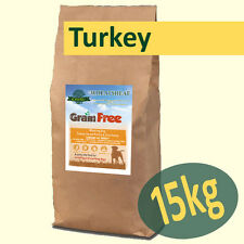 15kg *Grain Free* Working Dog Food TURKEY with SWEET POTATO & CRANBERRY