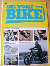 ON YOUR BIKE PART 2 MAGAZINE 1982 FIX JUDDERING BRAKE FAIRINGS HONDA'S DREAM