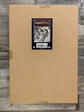 BERNIE WRIGHTSON ARTIFACT EDITION HARDCOVER OOP 1S PRINTING COVER A SWAMP THING