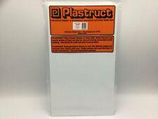 Plastruct 91107 (SSS-110P) 2.5mm Styrene Sheet White 300x175mm 2pc