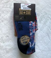 AUTHENTIC CONVERSE ALL STAR SOCKS (MADE FOR CHUCKS) - 3 PAIRS FOR 3Y - 5Y