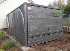 2,5x6 Fertiggarage Metallgarage RAUM REIFEN LAGER GARAGE Container Blechgarage