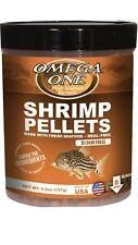Omega One Shrimp Pellets 4.5oz Sinking. **Free Shipping** #SHOPSMALL