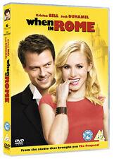 DVD:WHEN IN ROME - NEW Region 2 UK