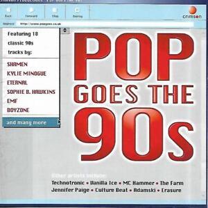 Pop Goes The 90s - Various Artists (2001 CD Album)