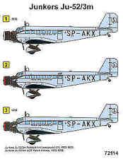 Techmod 1/72 Junkers Ju-52/3M # 72114