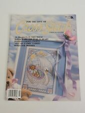 For the Love of Cross Stitch magazine May 96 Garden Angel Flower Frog Watermelon